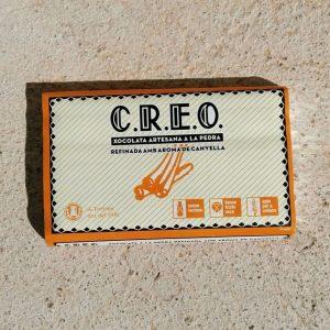 CREO CHOCOLATE ARTESANO A LA PIEDRA CON CANELA