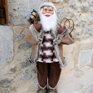 PAPÁ NOEL - SANTA CLAUS 83 CM Muñeco decorativo muy bonito y elegante, para Navidad.